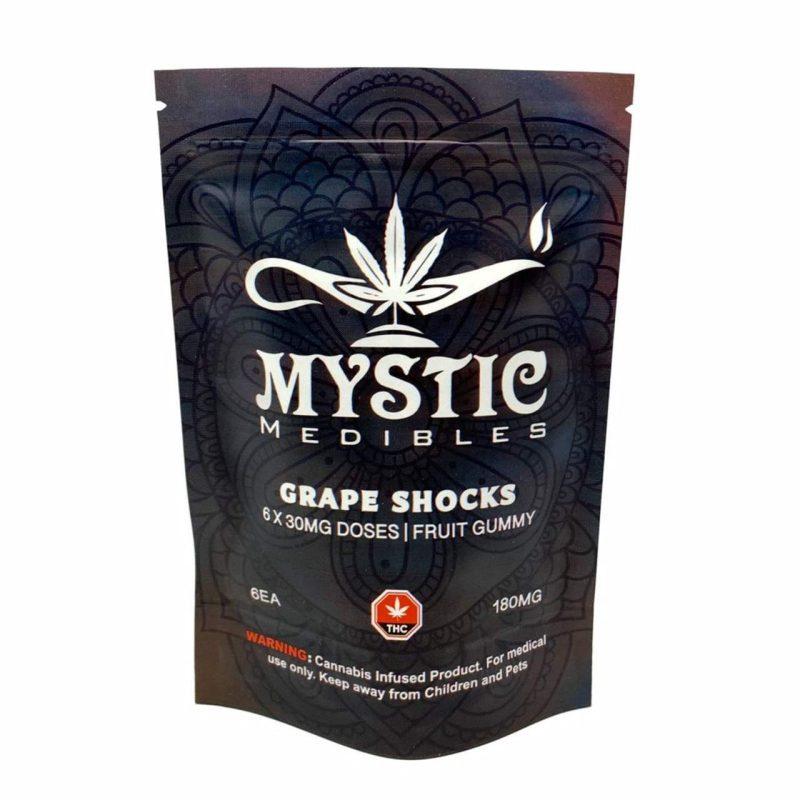 Grape Shock THC Gummies