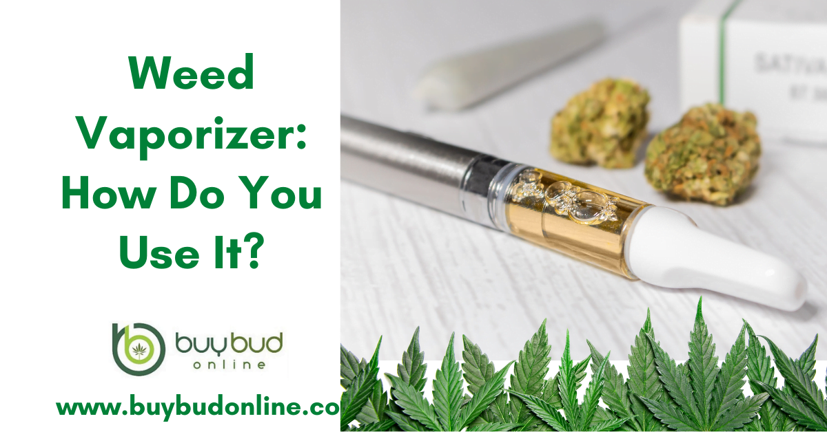 Weed Vaporizer: How Do You Use It?